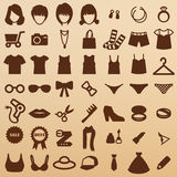 Fashion symbols Royalty Free Stock Image