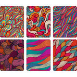 Fashion tablet skins. Modern abstract backgrounds with wave line Stock Photo