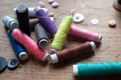 Fashion tailor composition Royalty Free Stock Photography