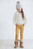 Fashion teenage girl Stock Photography