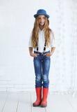 Fashion teenage girl Stock Photo