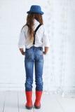 Fashion teenage girl Royalty Free Stock Images