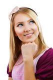 Fashion Teenage Student Girl royalty free stock images
