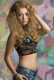 Fashion teenager Stock Photography