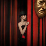 Fashion in theater. Drama Stock Images