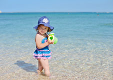 Fashion toddler girl Royalty Free Stock Photography