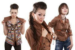 Fashion trends. Royalty Free Stock Photography