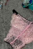 Fashion trendy lace lingerie. Stock Images