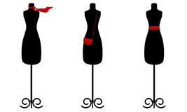 Fashion trio Stock Photography