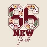 Fashion Typography Graphics. Sport T-shirt Royalty Free Stock Photo