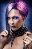 Fashion Underground Punk Look. Royalty Free Stock Photos