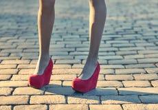 Fashion urban people, woman,outdoor. Lifestyle Royalty Free Stock Photo