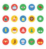 Fashion Vector Icons 6 Royalty Free Stock Images
