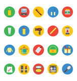 Fashion Vector Icons 5 Royalty Free Stock Images