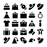 Fashion Vector Icons 1 royalty free stock image
