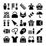 Fashion Vector Icons 11 Royalty Free Stock Photo