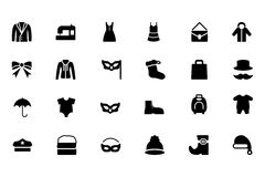 Fashion Vector Icons 4 Stock Image