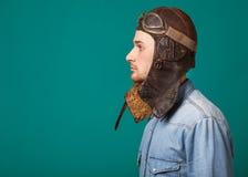 Fashion vintage men Stock Photography