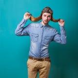 Fashion vintage men Stock Photo