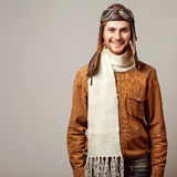 Fashion vintage men Stock Photos