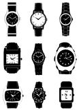 Fashion watch vector Royalty Free Stock Photo