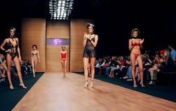Fashion week. Trade Mark Defile. Kiev, Ukraine, Alta-Expo Stock Photography