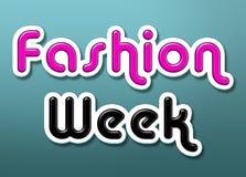 Fashion week Stock Photography