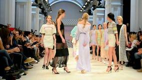 Fashion Week 2014, Kiev, Ukraine, stock footage