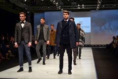Fashion week show. February 26 2015 Russia, Moscow stock photos