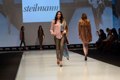Fashion week show Royalty Free Stock Photos