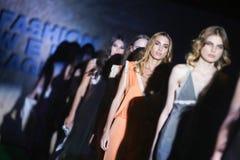 Fashion Week Zagreb : Marija Cvitanovic, Zagreb, Croatia. Royalty Free Stock Photography
