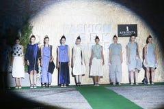 Fashion Week Zagreb : Stolnik, Zagreb, Croatia. Stock Image