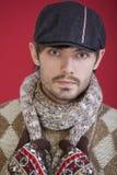 Fashion winter man Royalty Free Stock Photography