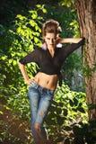Fashion woman Royalty Free Stock Photo