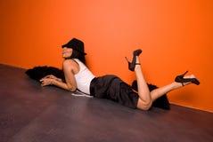 Fashion woman. Stock Photos