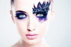 Fashion Woman. Art Creative Makeup Royalty Free Stock Photo