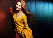 Fashion woman in autumn Stock Photo