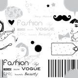 Fashion woman background Royalty Free Stock Image