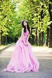 Fashion Woman. Beautiful Girl Outdoors Royalty Free Stock Photos