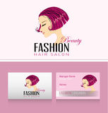 Fashion Woman with  beautiful Hair Royalty Free Stock Image