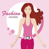 Fashion woman Stock Images