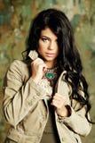 Fashion woman, beauty portrait Royalty Free Stock Image