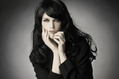 Fashion woman brunette Royalty Free Stock Photography