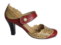 Fashion woman footwear Royalty Free Stock Photo