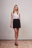 Fashion woman in full length posing Stock Image