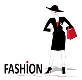 Fashion woman Stock Image
