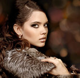 Fashion Woman with make up. Luxury Style Royalty Free Stock Photos