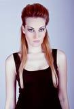 Fashion woman Portrait Stock Photography