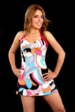 Fashion woman portrait Royalty Free Stock Image