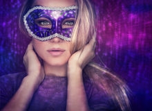 Fashion woman portrait Royalty Free Stock Images